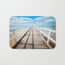 Boardwalk on the Beach Bath Mat