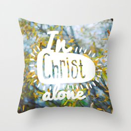 my Hope is found Throw Pillow