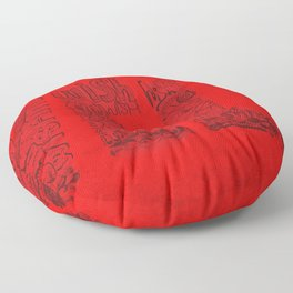 Wishing Well  Floor Pillow