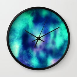 Enchanted galaxy V2 Wall Clock