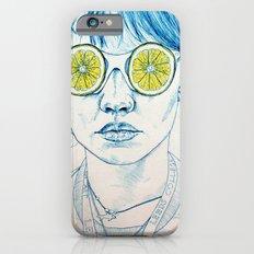 Lemon Lady iPhone 6s Slim Case