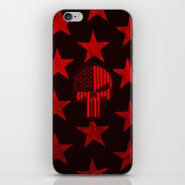 Hot Wax Skull and Stars  iPhone Skin