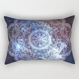 Dreamer Nebula Mandala Rectangular Pillow