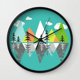 The Crystal Lake Wall Clock