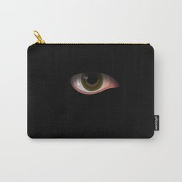Eye in Black Carry-All Pouch
