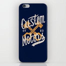 Custom Motors iPhone Skin