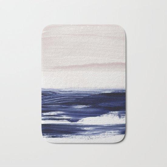 blue sea Bath Mat