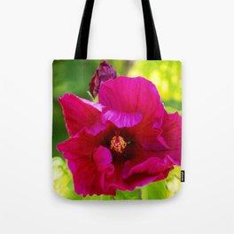 Jazzberry Jam Hibiscus Tote Bag