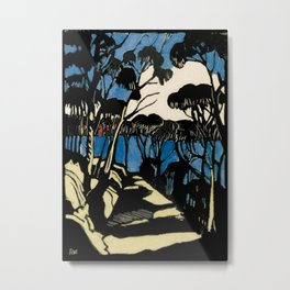 """Harbour Foreshore"" by Margaret Preston Metal Print"