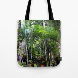 Dreamy Jungle Garden Tote Bag