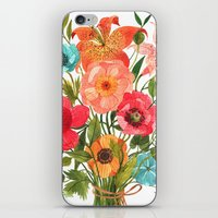 oana befort iPhone & iPod Skins featuring BOUQUET by Oana Befort