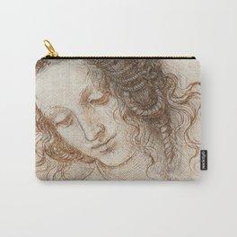 Leonardo da Vinci - Head of Leda Carry-All Pouch