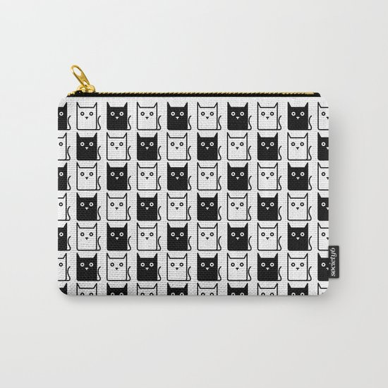 A Chess of Cats Carry-All Pouch