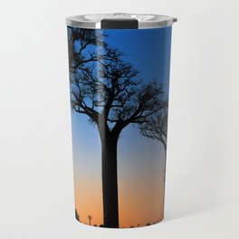 Baobab Trees in Madagascar Travel Mug