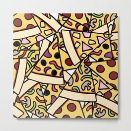 Pizza Heaven Metal Print