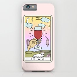 WINE READING iPhone Case
