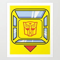 Transformers - Bumblebee Art Print