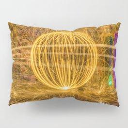 RUINED - Light Painting Pillow Sham