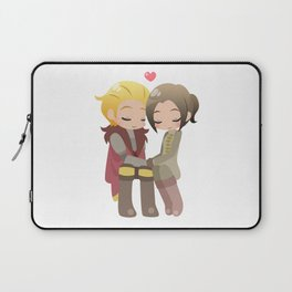 Dragon Age - Cullen and Inquisitor [Commission] Laptop Sleeve