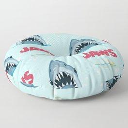 Shark Pattern no.1 Floor Pillow
