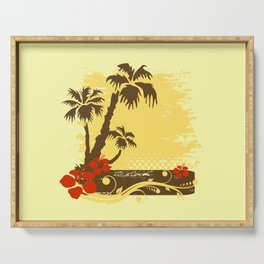 Tropical summer Serving Tray