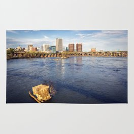 Richmond and the James River Rug