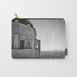 Griffith Park Observatory And Downtown Los Angeles Carry-All Pouch
