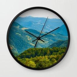 mountain shepherd Wall Clock