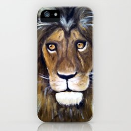 Portrait Of The King iPhone Case