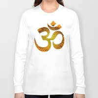 ohm Long Sleeve T-shirts featuring Ohm by MariquesArt