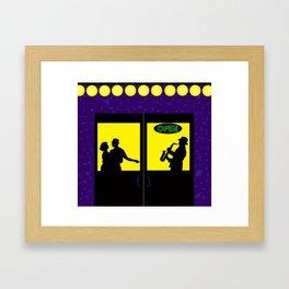 Jump N' Jive Framed Art Print