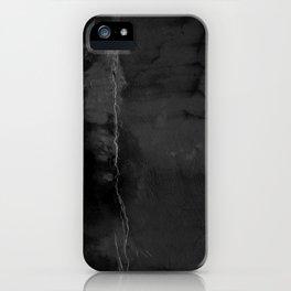 Black Leak iPhone Case