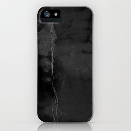 Black Leak iPhone Case