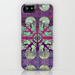 Skullflower / Schädelblume  iPhone Case