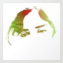 weary eyes Art Print