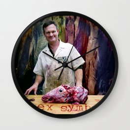 Sex Symbol Wall Clock