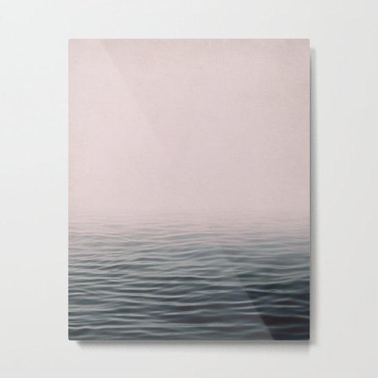 Misty sea Metal Print