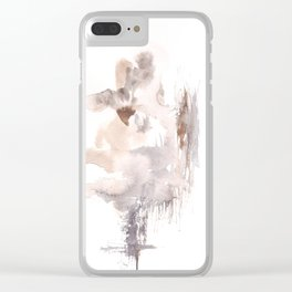 SoulMates - 151124  Abstract Watercolour Clear iPhone Case
