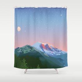 Tahoma Shower Curtain