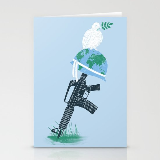 'Peace Within' Stationery Cards