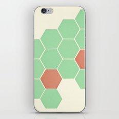 Mint Honeycomb iPhone Skin