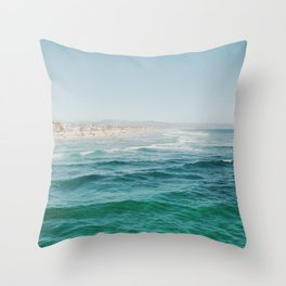 From the Pier Throw Pillow