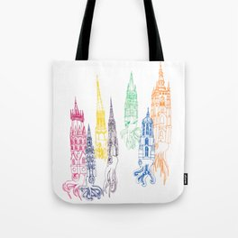 Baculite Cathedral Tote Bag