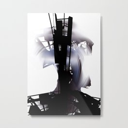 city dawn Metal Print