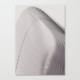 New York City, original fine photography, Manhattan, Oculus, Calatrava, World trade center, path Canvas Print