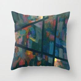 Spectrum 3 Throw Pillow