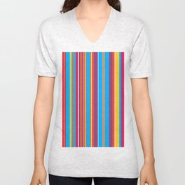 Stripes-013 Unisex V-Neck