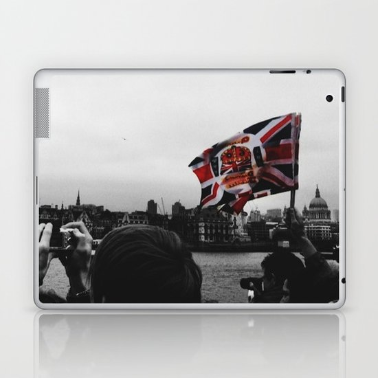 Jubilee Flag Laptop & iPad Skin