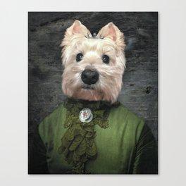 Lady Misty Canvas Print