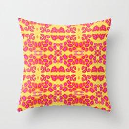 Cheeta Gone Wild 2 Throw Pillow